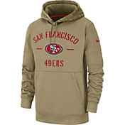 Nike Men's Salute to Service San Francisco 49ers Therma-FIT Beige Camo Hoodie