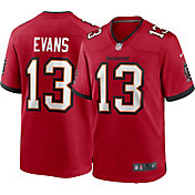 Nike Men's Tampa Bay Buccaneers Mike Evans #13 Home Red Game Jersey