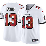 Nike Men's Tampa Bay Buccaneers Mike Evans #13 Away White Limited Jersey