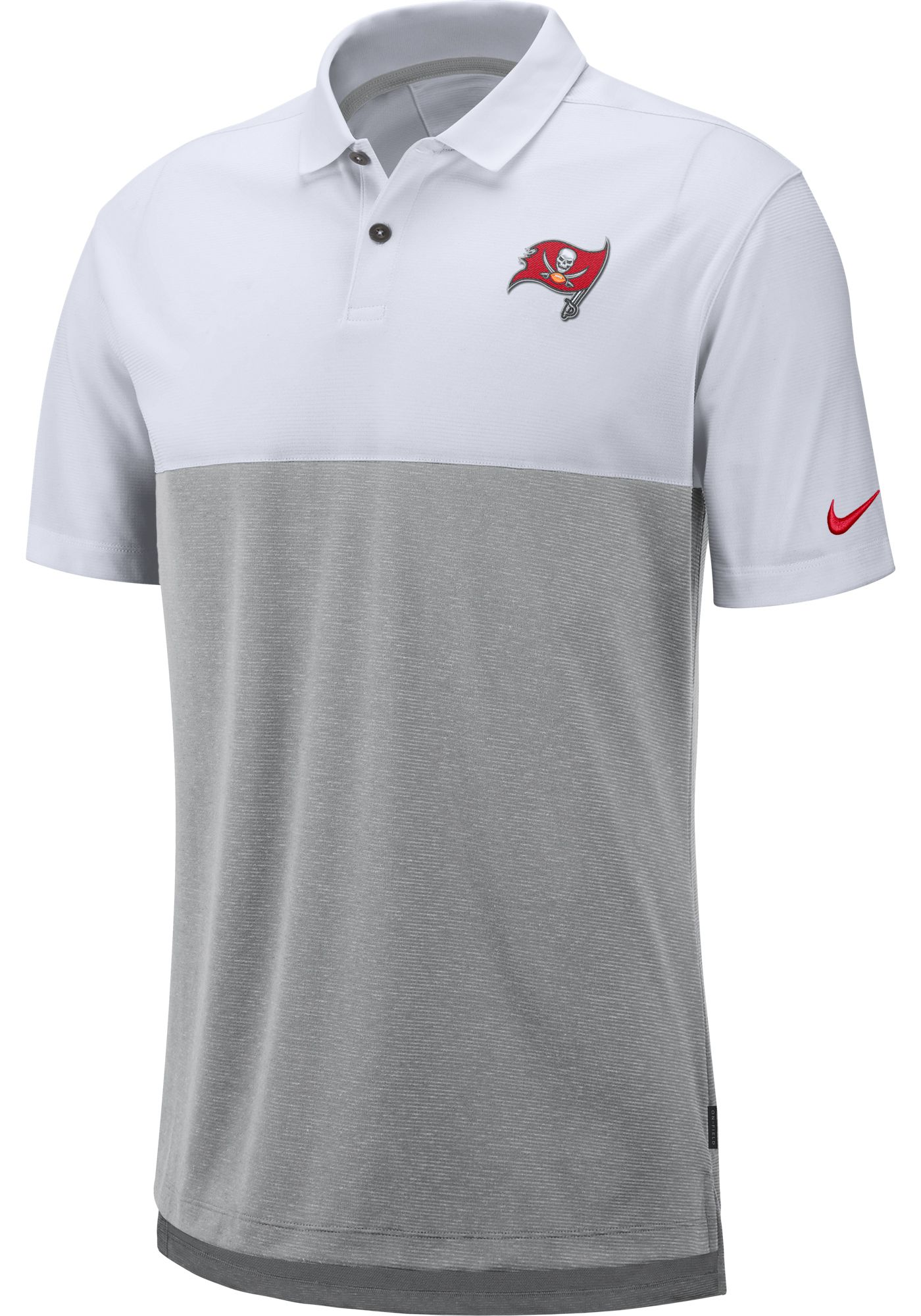 Nike Men's Tampa Bay Buccaneers Sideline Early Season White Polo
