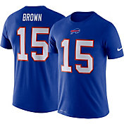 Nike Men's Buffalo Bills John Brown #15 Logo Royal T-Shirt