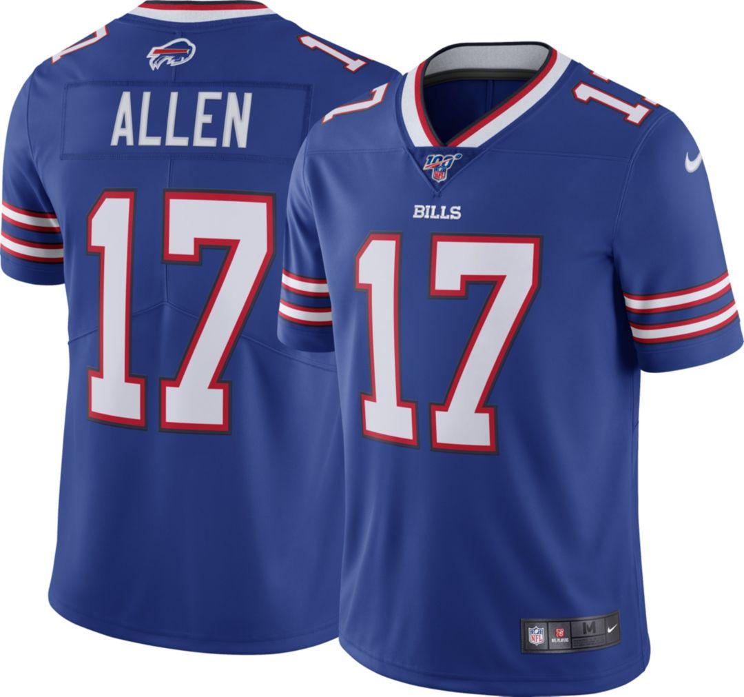 the best attitude 7d73c 230a1 Nike Men's 100th Home Limited Jersey Buffalo Bills Josh Allen #17