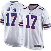 Nike Men's Away Game Jersey Buffalo Bills Josh Allen #17