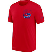 Nike Men's Buffalo Bills Sideline Dri-FIT Cotton Facility Red T-Shirt