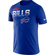 Nike Men's Buffalo Bills Sideline Legend Performance Royal T-Shirt