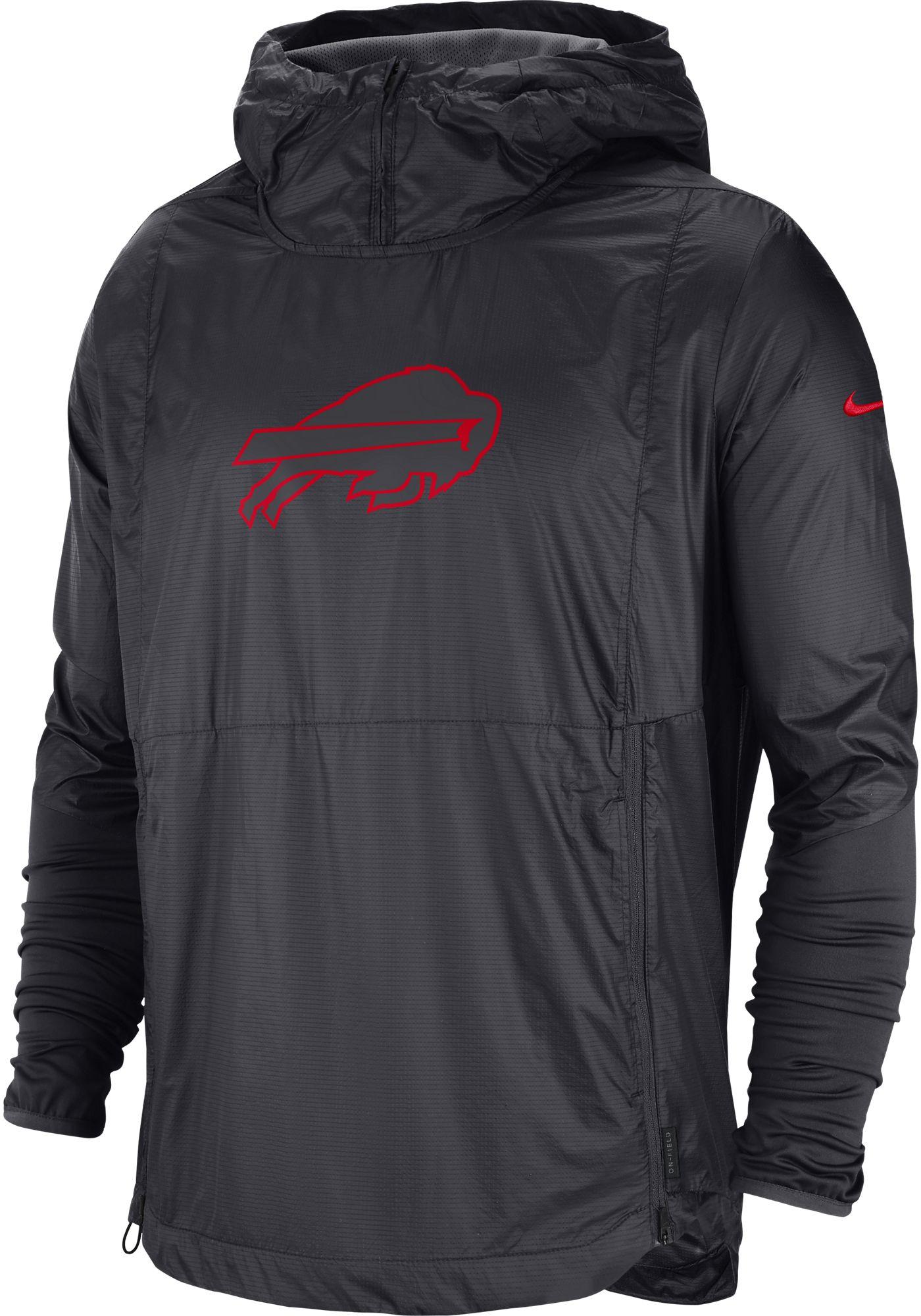 Nike Men's Buffalo Bills Sideline Repel Player Anthracite Jacket
