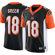 Nike Men's 100th Home Limited Jersey Cincinnati Bengals A.J. Green #18