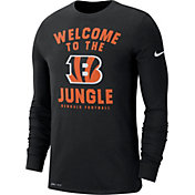 Nike Men's Cincinnati Bengals Local Long Sleeve Black Performance Shirt