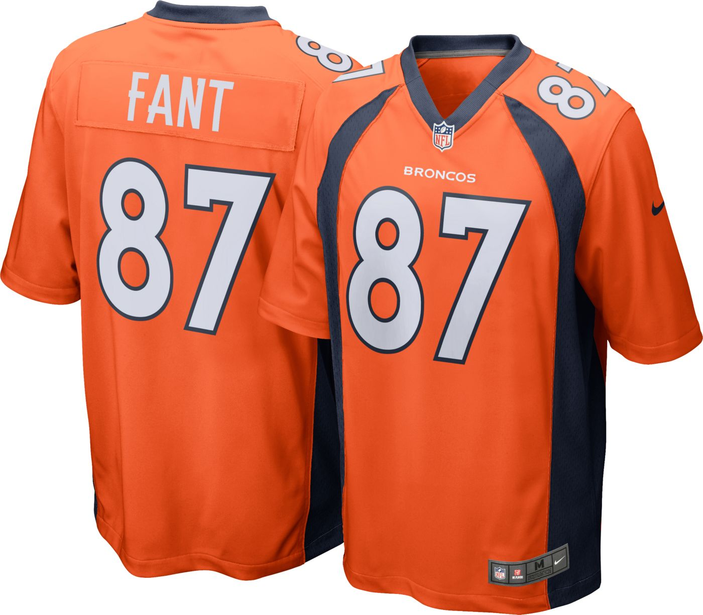 Noah Fant #87 Nike Men's Denver Broncos Home Game Jersey