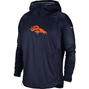 Nike Men's Denver Broncos Sideline Repel Player Navy Jacket