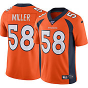 Nike Men's 100th Home Limited Jersey Denver Broncos Von Miller #58