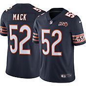 Nike Men's Chicago Bears Khalil Mack #52 100th Navy Limited Jersey
