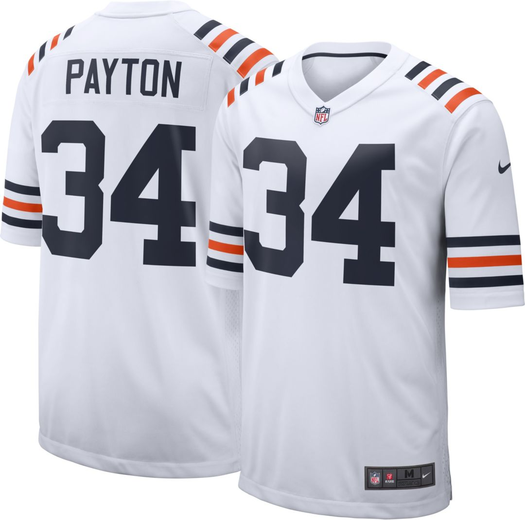 cheaper 74806 5fff7 Nike Men's Alternate Game Jersey Chicago Bears Walter Payton #34