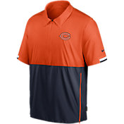 Nike Men's Chicago Bears Coaches Sideline Half-Zip Jacket
