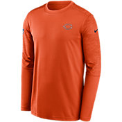 Nike Men's Chicago Bears Coaches Sideline Long Sleeve Shirt