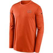 Nike Men's Chicago Bears Coaches Sideline Long Sleeve T-Shirt
