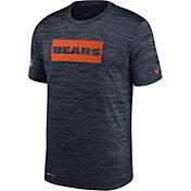 Nike Men's Chicago Bears Sideline Legend Velocity Navy T-Shirt