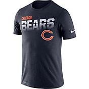 Nike Men's Chicago Bears Sideline Legend Performance Navy T-Shirt