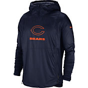 Nike Men's Chicago Bears Sideline Repel Player Navy Jacket