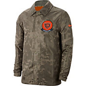 Nike Men's Salute to Service Chicago Bears Olive Lightweight Jacket