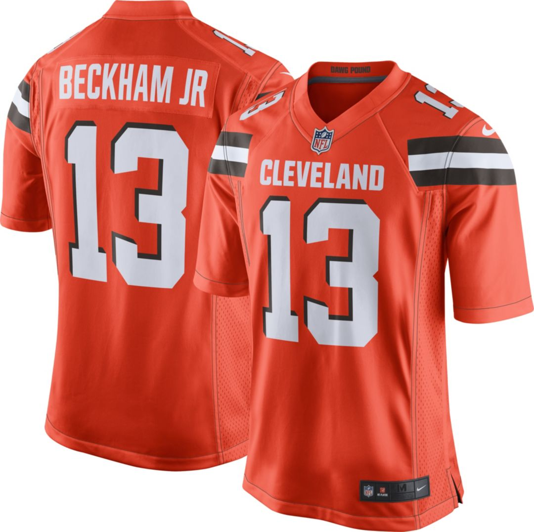 quality design 1c327 68047 Odell Beckham Jr. Nike Men's Cleveland Browns Alternate Game Jersey