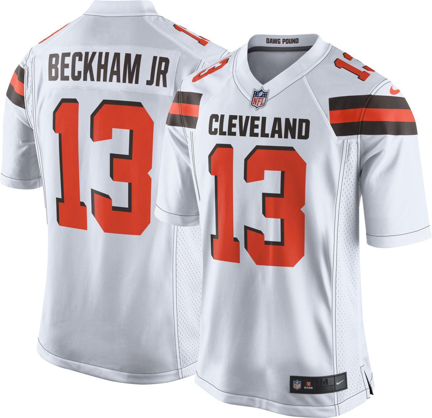 Nike Men's Home Game Jersey Cleveland Browns Odell Beckham Jr. #13