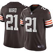 Nike Men's Cleveland Browns Denzel Ward #21 Brown Limited Jersey