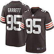 Nike Men's Cleveland Browns Myles Garrett #95 Home Brown Game Jersey
