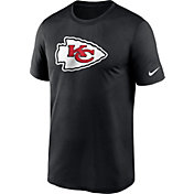 Nike Men's Kansas City Chiefs Legend Logo Black T-Shirt