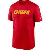 Nike Men's Kansas City Chiefs Sideline Dri-Fit Cotton  T-Shirt