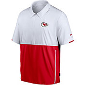 Nike Men's Kansas City Chiefs Coaches Sideline Half-Zip Jacket