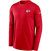 Nike Men's Kansas City Chiefs Sideline Coach Long-Sleeve T-Shirt