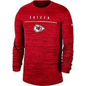 Nike Men's Kansas City Chiefs Sideline Legend Velocity Red Long Sleeve Shirt