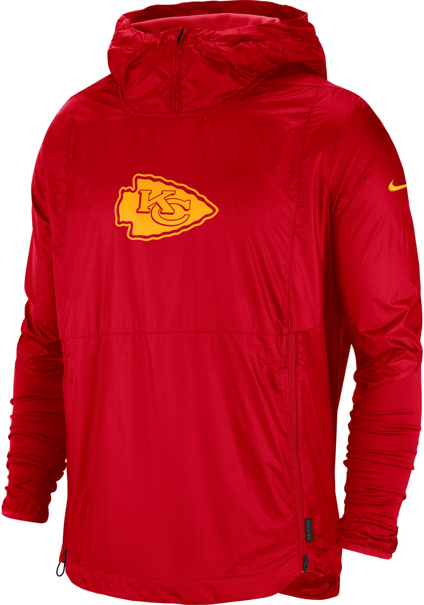 Nike Men's Kansas City Chiefs Sideline Repel Player Red Jacket