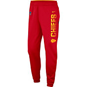 Nike Men's Kansas City Chiefs Sideline Therma-FIT Performance Red Pants