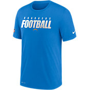 Nike Men's Los Angeles Chargers Legend Football Blue Performance T-Shirt