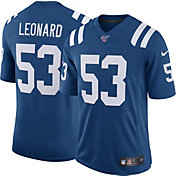Nike Men's 100th Home Limited Jersey Indianpolis Colts Darius Leonard #53