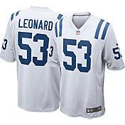 Nike Men's Away Game Jersey Indianapolis Colts Darius Leonard #53