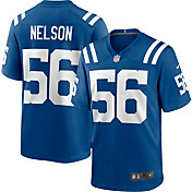 Nike Men's Indianapolis Colts Quenton Nelson #56 Home Blue Game Jersey