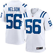 Nike Men's Indianapolis Colts Quenton Nelson #56 White Game Jersey
