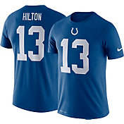 Nike Men's Indianapolis Colts T.Y. Hilton #13 Logo Blue T-Shirt