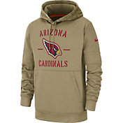 Nike Men's Salute to Service Arizona Cardinals Therma-FIT Beige Hoodie