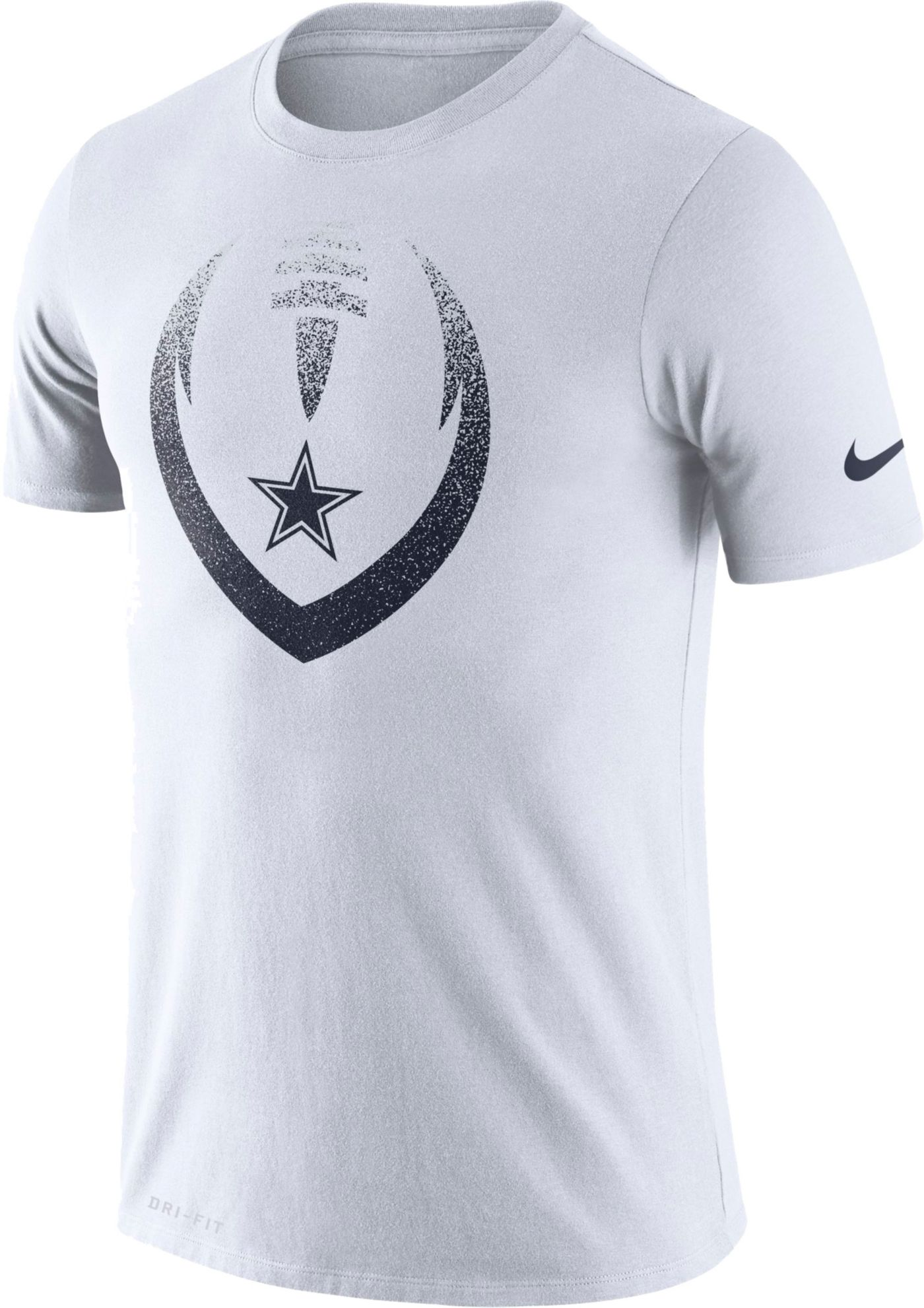 Nike Men's Dallas Cowboys Icon Performance White T-Shirt