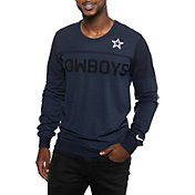 Nike Men's Dallas Cowboys Fuse Coaches Navy Sweater
