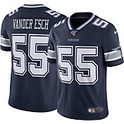 Nike Men's 100th Home Limited Jersey Dallas Cowboys Leighton Vander Esch #55