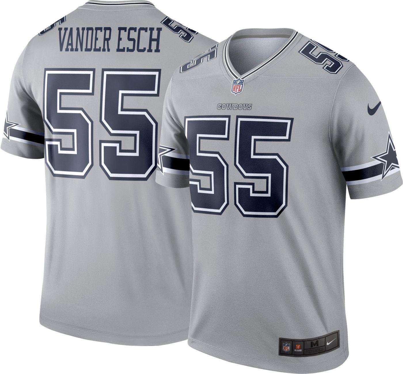 Nike Men's Legend Jersey Dallas Cowboys Leighton Vander Esch #55