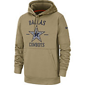 Nike Men's Salute to Service Dallas Cowboys Therma-FIT Beige Camo Hoodie