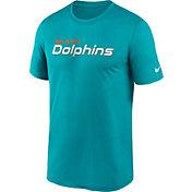 Nike Men's Miami Dolphins Sideline Dri-Fit Cotton  T-Shirt