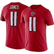 Nike Men's Atlanta Falcons Julio Jones #11 Logo Red T-Shirt