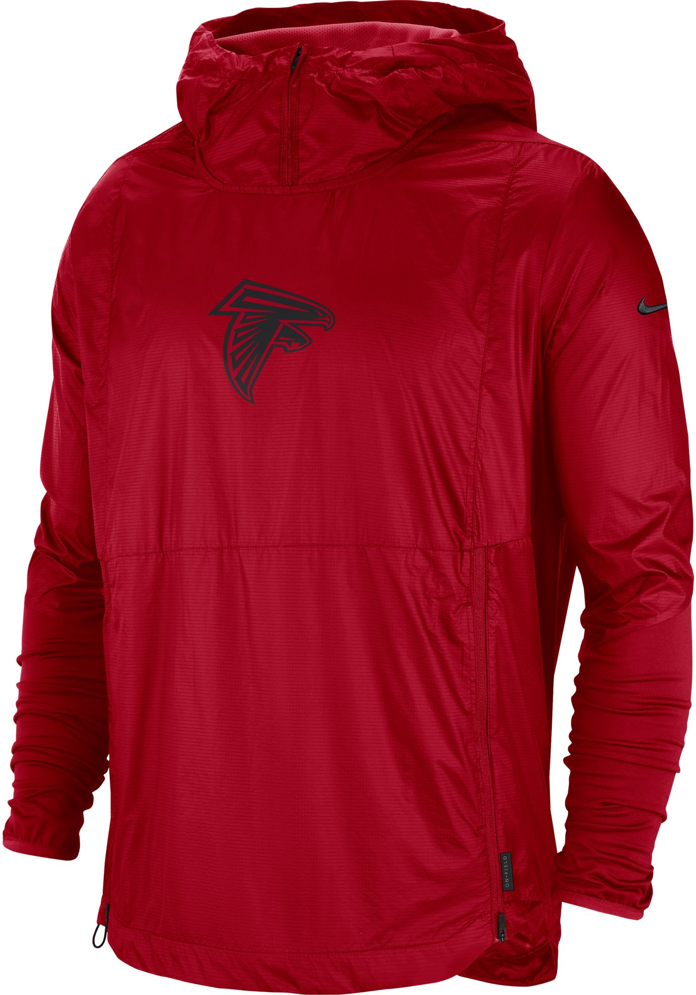 Nike Men's Atlanta Falcons Sideline Repel Player Red Jacket